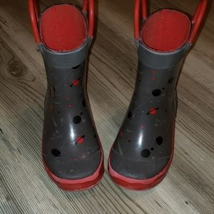 Toddler Space Rainboots